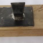 Tafelblok met of zonder houtenondersteuning